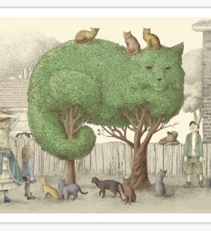 The Night Gardener - The Cat Tree Sticker