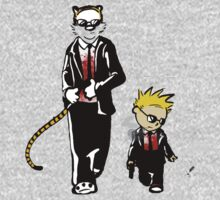 Calvin And Hobbes Partners In Crime Baby Tee