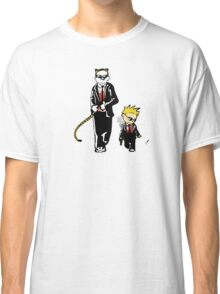 Calvin And Hobbes Partners In Crime Classic T-Shirt