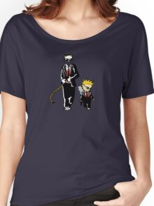Calvin And Hobbes Partners In Crime Women's Relaxed Fit T-Shirt