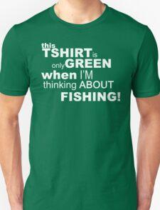 Green fishing tshirt T-Shirt
