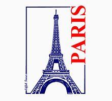 Paris-Eiffel Tower  Women's Fitted Scoop T-Shirt