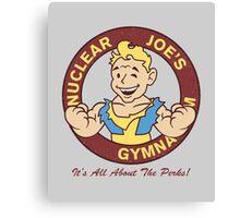 Nuclear Joe's Average Gym Canvas Print