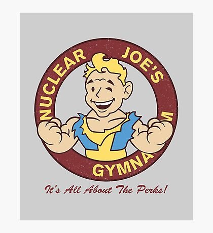 Nuclear Joe's Average Gym Photographic Print