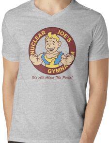 Nuclear Joe's Average Gym Mens V-Neck T-Shirt