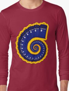 Doctor Who - TARDIS Spiral Long Sleeve T-Shirt