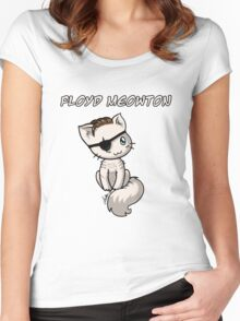 Floyd Meowton Women's Fitted Scoop T-Shirt