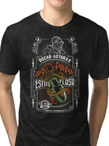 Sir Oscar of Astora's Estus Flask Tri-blend T-Shirt
