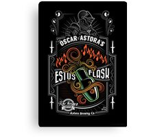 Sir Oscar of Astora's Estus Flask Canvas Print
