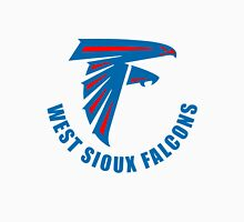 West Sioux Falcons Blue Football Unisex T-Shirt
