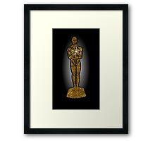 oscar award Framed Print