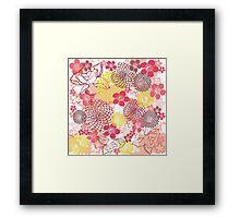 Oriental Garden Studio Framed Print
