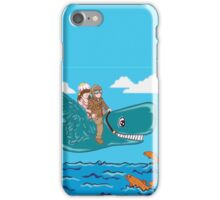 Flying Whale iPhone Case/Skin