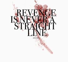 Revenge is never a straight line Tank Top