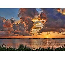 Colorful Clouds Photographic Print