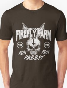 Firefly Farms run rabbit run T-Shirt