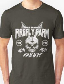 Firefly Farms run rabbit run T-Shirt