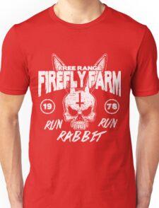 Firefly Farms run rabbit run Unisex T-Shirt