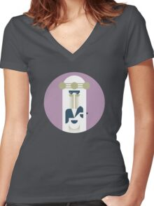 Frank Zappa (Sheikh Yerbouti) Women's Fitted V-Neck T-Shirt