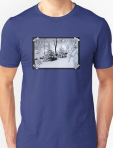 It's a Marshmallow World in the Winter Unisex T-Shirt