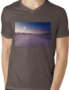 Moon gazers Mens V-Neck T-Shirt