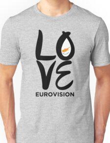 LOVE Eurovision [Cyprus] Unisex T-Shirt