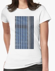 Stripes - Tower 42, London Womens Fitted T-Shirt