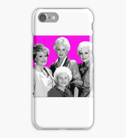 Golden Girls Thank you for being a friend iPhone Case/Skin