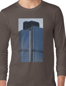 Tower 42, London. The Very Top Long Sleeve T-Shirt