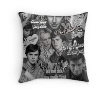 Bae Motel Throw Pillow
