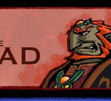 The Link, the Ganondorf and the Chuchu Sticker
