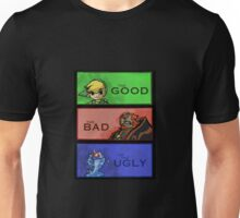 The Link, the Ganondorf and the Chuchu Unisex T-Shirt