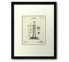Telephone Desk Stand-1908 Framed Print