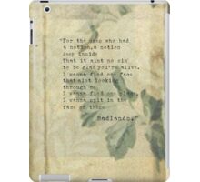 For the ones who had a notion iPad Case/Skin