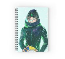 Oikawa and Frost Bites. Spiral Notebook