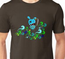 Angry rabbit-pirate waves commander  Unisex T-Shirt