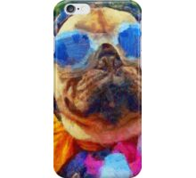 Cool Pug Painting iPhone Case/Skin