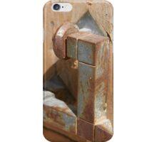 Time-worn door knocker 4 iPhone Case/Skin