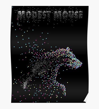 Modest Mouse Bear Poster