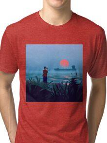 Shipspotting Tri-blend T-Shirt