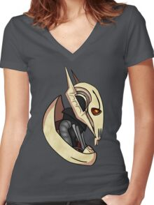 General Grievous Women's Fitted V-Neck T-Shirt