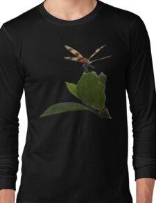 Dragonfly on Mangrove Remix Long Sleeve T-Shirt