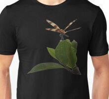 Dragonfly on Mangrove Remix Unisex T-Shirt