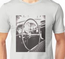 An American Vintage Car Dashboard Unisex T-Shirt