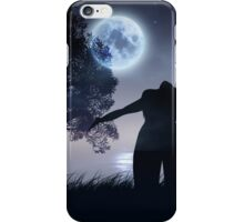 Lonely Night Landscape iPhone Case/Skin
