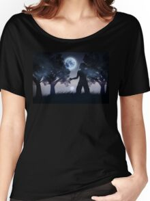 Lonely Night Landscape 2 Women's Relaxed Fit T-Shirt