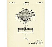 Bathroom Scale-1938 Photographic Print