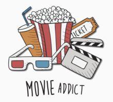 Movie Addict Kids Tee