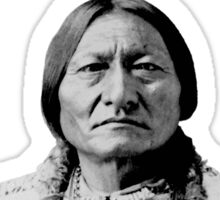Sioux Chief Sitting Bull Sticker