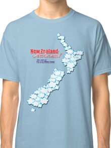 The Land of The Long White Cloud, New Zealand Classic T-Shirt